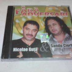 CD MANELE FARA ADVERSARI NICOLAE GUTA SANDU CIORBA ORIGINAL NOU SIGILAT - Muzica Lautareasca