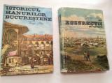 ISTORICUL HANURILOR BUCURESTENE/DIN BUCURESTII DE ALTADATA GEORGE POTRA 2 VOL
