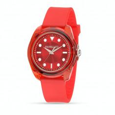 Ceas bărbătesc Morellato Colours Red R0151101014 - Roşu, Fashion, Quartz, Plastic, Rezistent la apa, Analog