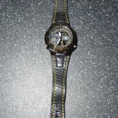Ceas de mana CASIO Edifice EFA-131PB-1AVEF + curea piele - Ceas barbatesc Casio, Sport, Quartz, Cronograf, Analog & digital