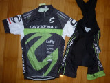 Echipament ciclism Cannondale MTB Lefty V2 set NOU tricou si pantaloni, Tricouri