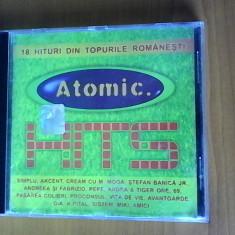 CD cu muzica Atomic - Muzica Dance roton