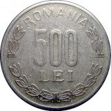 ROMANIA, 500 LEI 1999 * cod 94.3.18, Aluminiu