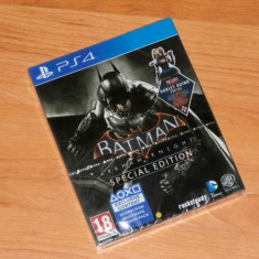 Joc PS4 - Batman: Arkham Knight Special Edition ( Steelbook ) , sigilat