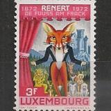 "Luxemburg.1972 100 ani satira ""Remert"" CL.210 - Timbre straine, Nestampilat"
