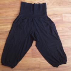 Pantaloni 3/4 fishbone, marimea M, bumbac - Pantaloni gravide