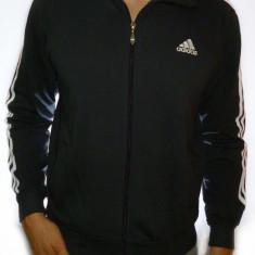 Trening Adidas - trening albastru trening barbat trening slim fit cod 138 - Trening barbati, Marime: M, Culoare: Negru