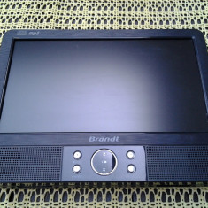 DVD portabil, BRANDT BDVDP 9210, ecran fix - DVD Player Portabil