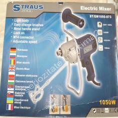 amestecator mortar mixer electric Straus Austria 1050W masina de amestecat