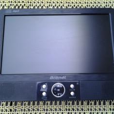 """Brandt / dvd auto / portabil / ecran fix 9"""" (22,9 cm)"""