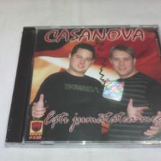 CD MANELE CASANOVA ESTI JUMATATEA MEA ORIGINAL NOU SIGILAT - Muzica Lautareasca