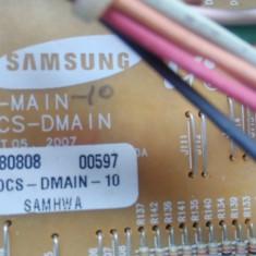 Instalatie electrica: placa de baza, butoane, ventilato - Samsung BT62, BT63, BT65 - Cuptor incorporabil