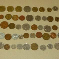 Lot 50 monede straine - 2+1 gratis - RBK17153, Europa