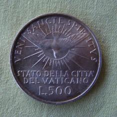 500 lire 1958 VATICAN - Argint aUNC, Europa