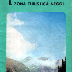 Munţii Făgăraş : 3 pliante-hărţi - Harta Turistica
