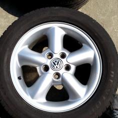 JANTE ORIGINALE VW SHARAN T4 16 5X112 - Janta aliaj Volkswagen, Numar prezoane: 5
