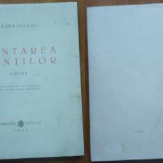 Magda Isanos , Cantarea muntilor ; Poeme , 1945 , editia 2 , poeta din Basarabia
