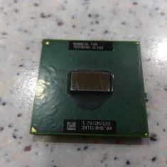 Procesor laptop intel Pentium M 740, 1, 73Ghz, 2Mb cache, fsb 533, 2000-2500 Mhz, Numar nuclee: 2, G1