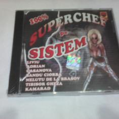 CD MANELE 100% SUPER CHEF PE SISTEM ORIGINAL NOU SIGILAT - Muzica Lautareasca
