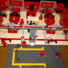 LEGO Racers Ferrari 248 F1 Team (editia Michael Schumacher)- LEGO 8144