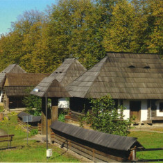 Carte postala Bucovina SV103 Suceava - Muzeul Satului Bucovinean, Necirculata, Printata
