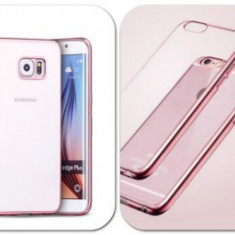 Husa silicon Ultra Thin Luxury Apple iPhone 5 / 5S ROSE GOLD - Husa Telefon Apple, iPhone 5/5S/SE