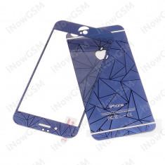 Folie sticla rezistiva protectie fata spate 3D diamond Apple iPhone 6 Plus