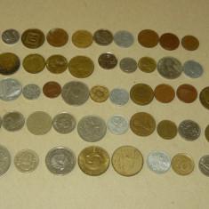 Lot 50 monede straine - 2+1 gratis - RBK17149, Europa