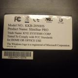 Tastatura PC Genius Slim Star PRO Model KKB-2050HS German, Standard, USB, Cu fir