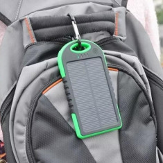 Incarcator solar de 5000mAh / Baterie externa de rezerva