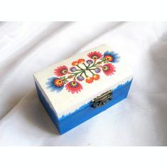 Cutie lemn cu motiv traditional 27253