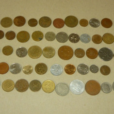 Lot 50 monede straine - 2+1 gratis - RBK17157, Europa