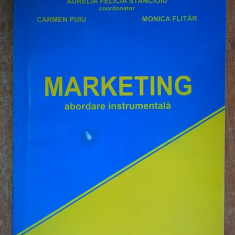 A. F. Stancioiu s.a. - Marketing {abordare instrumentala} - Carte Marketing