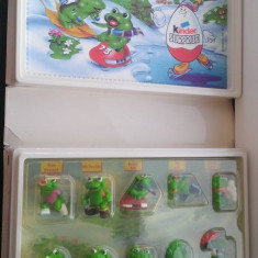 Kinder - Cutie-diorama Froggy Friends - serie completa - Surpriza Kinder