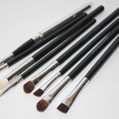 Pensule machiaj Fraulen 8 pensule fard blending tus ruj corector fard sprancene - Pensula make-up Fraulein38