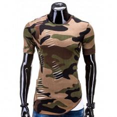 Tricou barbati Army, Marime: XL, Culoare: Din imagine, Maneca scurta, Bumbac