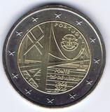 PORTUGALIA moneda 2 euro comemorativa 2016 - Podul, UNC