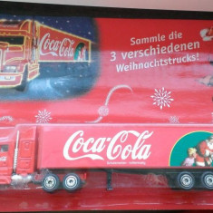 Camion Coca Cola - model Craciun 2002 1/3, 1/87, Germania (tip 005)