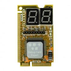 TESTER MINI PCI-E Depanare (Diagnoza Placa de Baza, Motherboard) Laptop 3IN1 Mini PCI PCI-E tester LPC