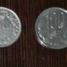 ROMANIA - LOT 2 MONEDE 100 LEI 1943, 1994 - Moneda Romania