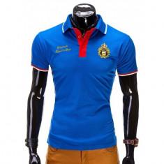 Tricou polo barbati - 3 culori - - Tricou barbati, Marime: L, Culoare: Albastru, Maneca scurta, Bumbac