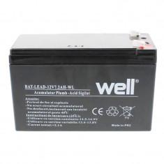 Acumulator plumb acid Well, 12 V, 7.2 Ah