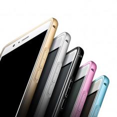 Husa / Bumper aluminiu cu spate acril pentru Huawei P9 lite, Alt model telefon Huawei, Negru