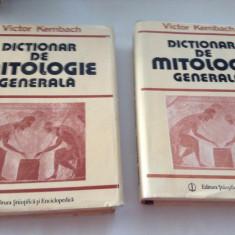 Victor Kernbach - Dictionar de mitologie generala rf11/1 - Carte mitologie