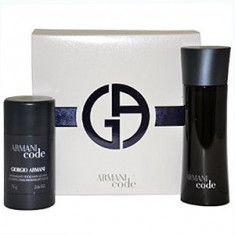 Giorgio Armani Armani Code Pour Homme Set 75+75 pentru barbati - Set parfum