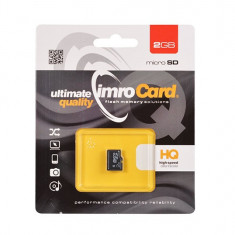 Card de memorie IMRO Micro SD 2GB - Card memorie