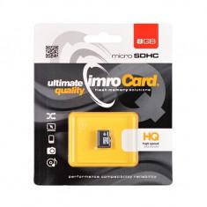 Card de memorie IMRO Micro SD 8GB, 8 GB