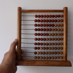 Abac din perioada R.P.R, in stare de conservare perfecta. - Jocuri Stiinte