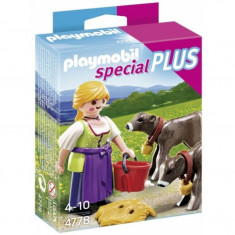 Fata fermier cu vitei Playmobil