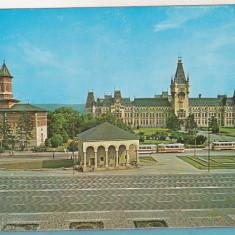 Bnk cp Iasi - Palatul culturii, Casa Dosoftei si ...- necirculata - Carte Postala Moldova dupa 1918, Printata